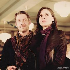 frivolouswhim:  Outlaw Queen being gorgeous.