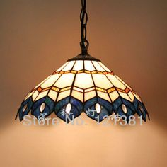 mobile site-12 Inches Wide Peacock Tiffany Pendant Lamp Stained Glass Lamp Hand Crafted Lighting