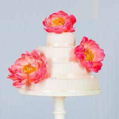 #rockmycake with Marks & Spencer | Traditional Four Tier Wedding Cake | Peony Decor | Floral | DIY | Budget Friendly Wedding Cake Ideas |