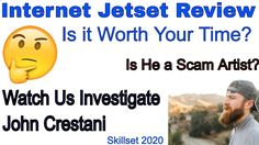 🤔🤔 Internet Jetset Review, You can Trust this John Crestani 🤔🤔