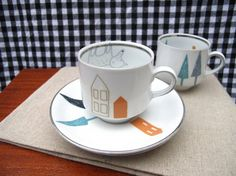 Very cute coffee cups.