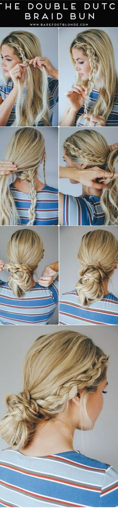 16 Stunning Hairstyles for Different Occasions: #5. The Double Dutch Braided Hairstyle