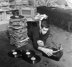 pile of music