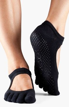 ToeSox 'Bella' Full Toe Gripper Socks | Nordstrom