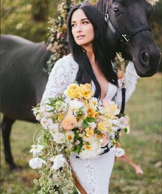 Kacey Musgraves and Ruston Kelly's Wedding Photos Are the Happiest, Prettiest Wedding Photos EVER Stunning Wedding Dresses, Wedding Gowns, Beautiful Bouquets, Wedding Attire, Wedding Bouquet, Bridal Gowns, Wedding Flowers, Ruston Kelly, Cowgirl Wedding