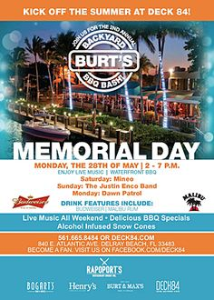 memorial day delray beach
