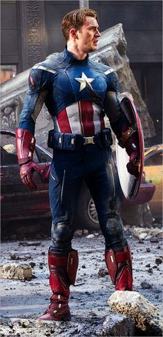 Mmm, hello there Cap. #TheAvengers #CaptainAmerica