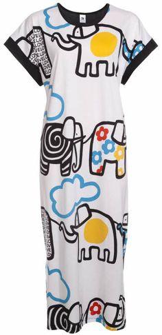 Multi coloured Nanso sleepwear - $140.00 www.nightowllingerie.com