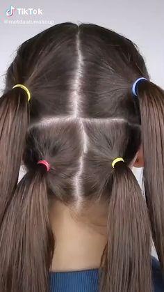 Easy Hairstyles For Long Hair, Diy Hairstyles, Super Easy Hairstyles, Hairstyle Men, Videos Of Hairstyles, Wedding Hairstyles, Black Girl Short Hairstyles, Toddler Hairstyles, Cute Girls Hairstyles