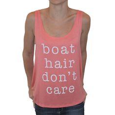 Boat Hair Tank
