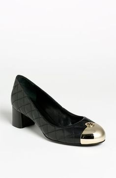 Perfect work shoe. #toryburch