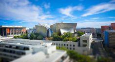 Walt Disney Concert Hall and LA Phil Aerial
