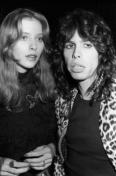 "Bebe Buell And Steven Tyler. Had a baby - Liv, who was told her dad was Todd Rundgren. Then she ran into Steven Tyler at a party and felt like she was ""looking into a mirror"" DNA proved he was her father."