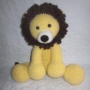 The Adorable Lion - via @Craftsy