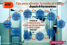 10 consejos para volver al trabajo de la mejor forma tras las vacaciones vía @CMparaTuPyme