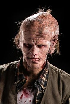 Face Off Pictures - View galleries of every episode. See photos from Face Off episodes and see the latest cast photos and more on SYFY! Horror Makeup, Scary Makeup, Sfx Makeup, Alien Makeup, Special Makeup, Special Effects Makeup, Face Off Makeup, Alien Photos, Terrifying Stories