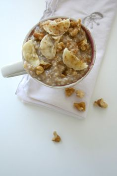 banana bread steel cut oats | the boot