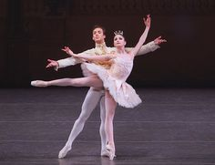 New York City Ballet's Kathryn Morgan and Tyler Angle in The Sleeping Beauty pas de deux. Photo by Paul Kolnik