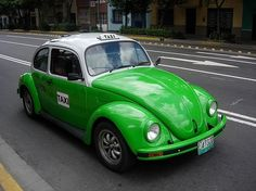 Mexican Taxi VW Beetle