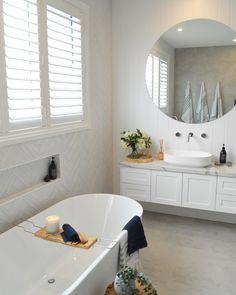 Simple Bathroom Upgrades Ideas For Rental Home Hampton Style Bathrooms, Easy Bathroom Upgrades, Bathroom Styling, Bathroom Interior, Small Bathroom Remodel, Bathrooms Remodel, House, Tile Bathroom, Laundry In Bathroom