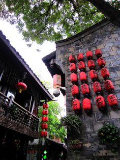 Lanterns, Sichuan, China
