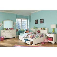LC Kids Park City Storage Platform Bed Size: Twin, Finish: Dark Merlot