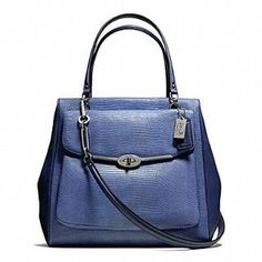 bd3845853e884 MADISON NORTH SOUTH SATCHEL IN LIZARD EMBOSSED LEATHER Cheap Coach Bags