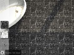 Sims 4 CC's - The Best: Marble Tile Floor Set by Torque