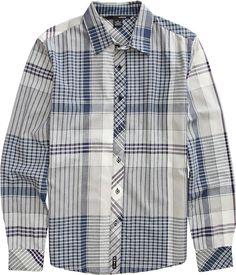 Plaid shirt for a plaid lifer like me
