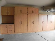 Cabinets For Garage pictures of garage cabinets, floor coatings, and slatwall systems