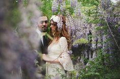 Wisteria wedding inspiration...swoon.