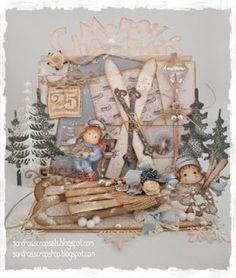 Winterset # 104 template available at www.sandrasscrapshop.blogspot.com