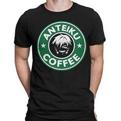 Tokyo Ghoul Anteiku coffee T-Shirt Camiseta