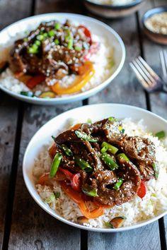 Korean Beef Toasted Sesame Rice