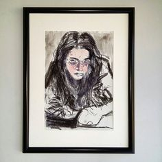 Check out my artworks in my Etsy Shop! Art SALE 9€ https://www.etsy.com/de/listing/464215108/charcoal-woman-face-drawing