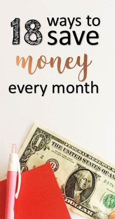 18 Ways to Save Money Each Month | The Practical Penny | If you�re looking to amp up your savings, or find ways to afford more of what you want, you may want to look for a few ways to save money every month.