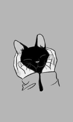 Wallpapers of cute kittens. – Wallpapers of cute kittens. Tier Wallpaper, Kitten Wallpaper, Animal Wallpaper, Wallpaper Backgrounds, Wallpaper Wallpapers, Galaxy Wallpaper, Mobile Wallpaper, Black Wallpaper, Iphone Wallpaper Cat