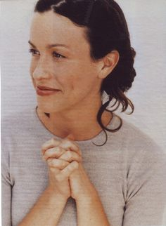 Alanis Morissette- I find her so beautiful and wise.