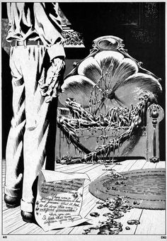 Wrightson. Cool Air by Lovecraft
