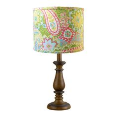 Spring Paisley Table Lamp