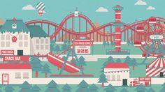 2014 Fried Screen bridge video.    Design. Kim Ju-hyeon