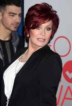 Sharon Osborn hair style