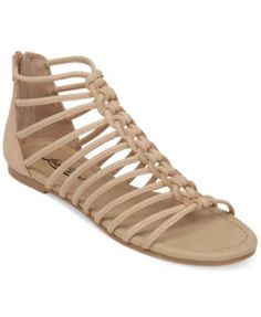 Lucky Brand Casmett Strappy Caged Flat Sandals