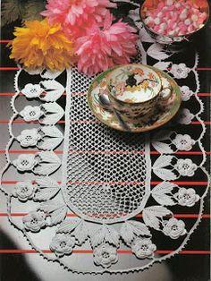 ~ Crochet Style ~: ~Centro florido~