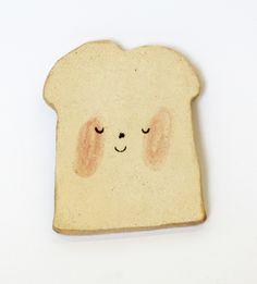 happy toast plate - charlotte mei
