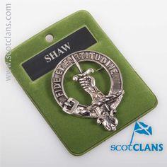 Shaw Clan Crest Cap