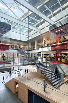 Gensler's LA office with a bit of downtown attitude, I wouldn't mind working there.