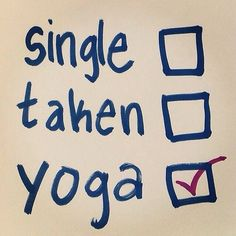 single/taken/yoga