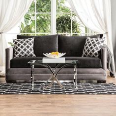 Relly-Sofa-Black-Grey-Track-Arm-Living-Room-Contemporary-Modern