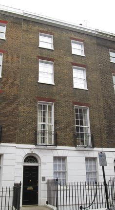 The home of singer David Bowie and his manager, Kenneth Pitt, in 1967-1968